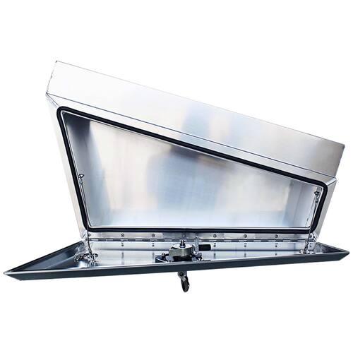 Under Tray Toolbox 900mm x 210mm - 260mm x 450mm Flat OZY-UB900